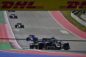 """Un disque de frein """"explosé"""" a mis fin à la course de Magnussen"""