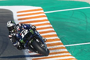 Vinales ends Valencia MotoGP test on top
