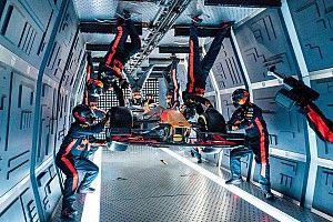 Bijzondere Red Bull-demo's in de jaren '10: Gewichtloze pitstop