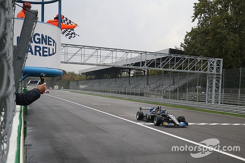 Trionfo di Igor Fraga in Gara 1 a Monza sul bagnato