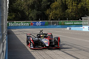 Santiago E-Prix: Rowland tops crash-shortened practice