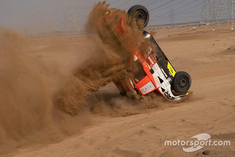 Dakar: Kolomy già fuori per un brutto crash nello shakedown!