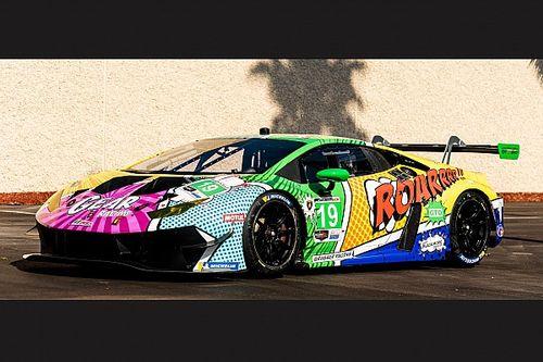 GALERÍA: decoración del auto de Tatiana Calderón para Daytona