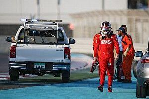 "Leclerc: ""Un día positivo a pesar del accidente"""
