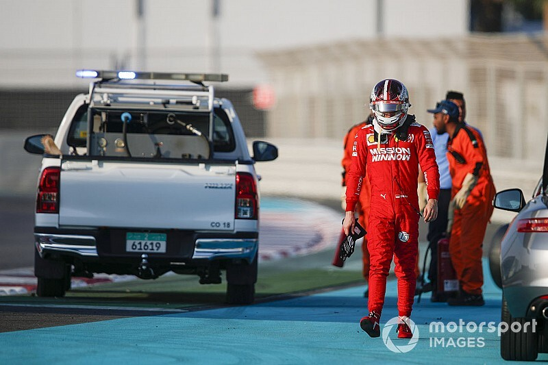 Las mejores fotos del test de Pirelli 2019 en Abu Dhabi