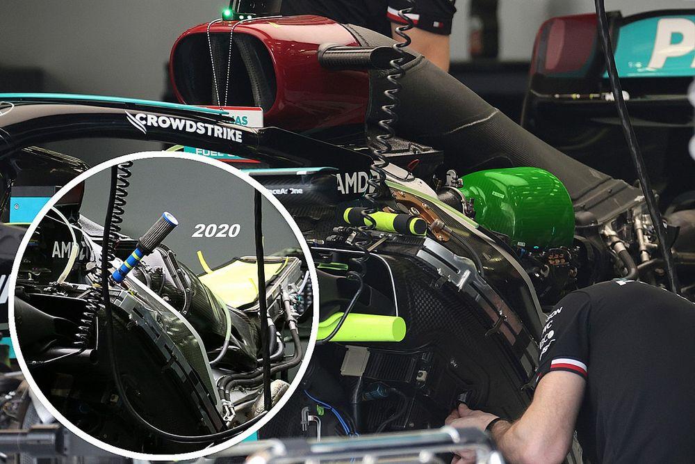 Sensore Mercedes: il plenum pesca aria più fredda?