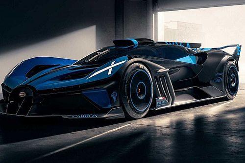 Bugatti показала новые изображения своего Bolide