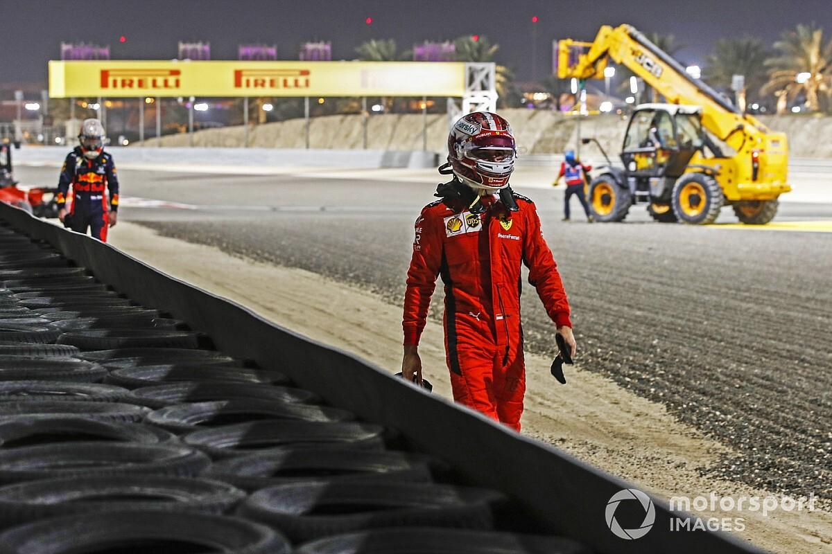 Binotto: nincs miről beszélni Leclerc balesetével kapcsolatban
