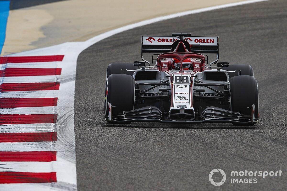 Kubica'nın hızı Alfa Romeo'yu etkiledi