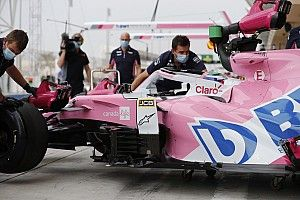 Perez set for grid penalty after engine change in Abu Dhabi