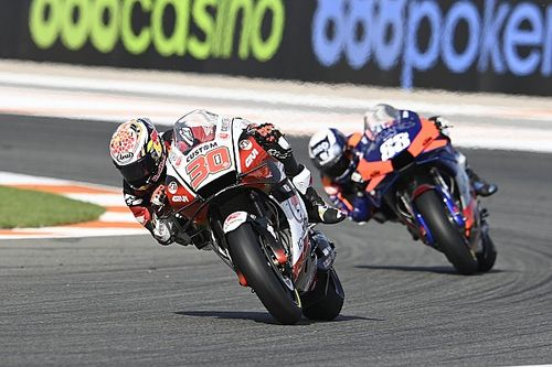 Nakagami voor Morbidelli in eerste training GP van Valencia