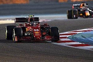Sainz se dijo sorprendido por el Ferrari SF21