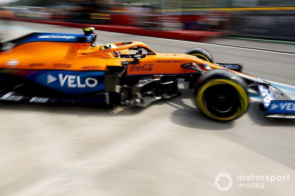 Snelheid Ferrari op Imola 'geen schok' voor Norris