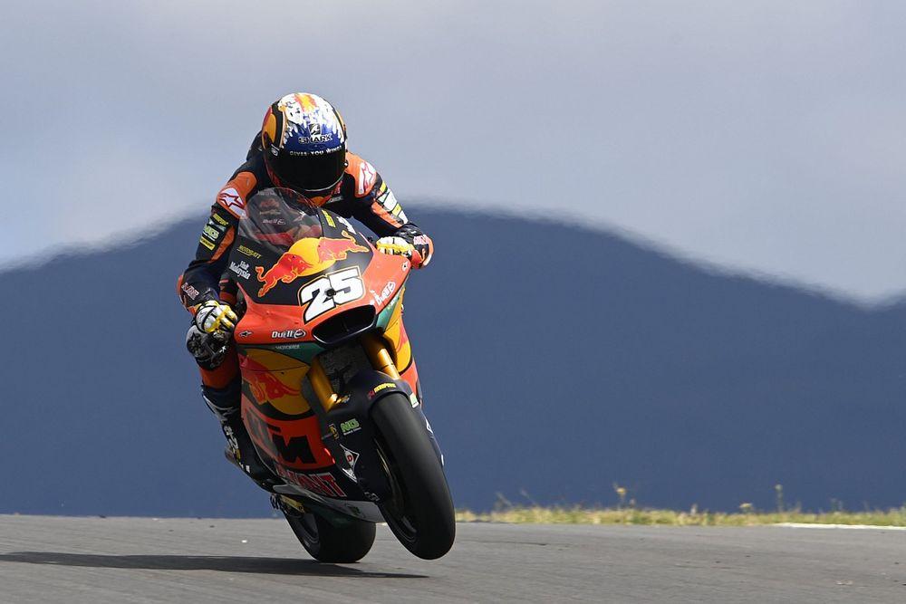 Portimao Moto2: Fernandez scores maiden win, Lowes crashes