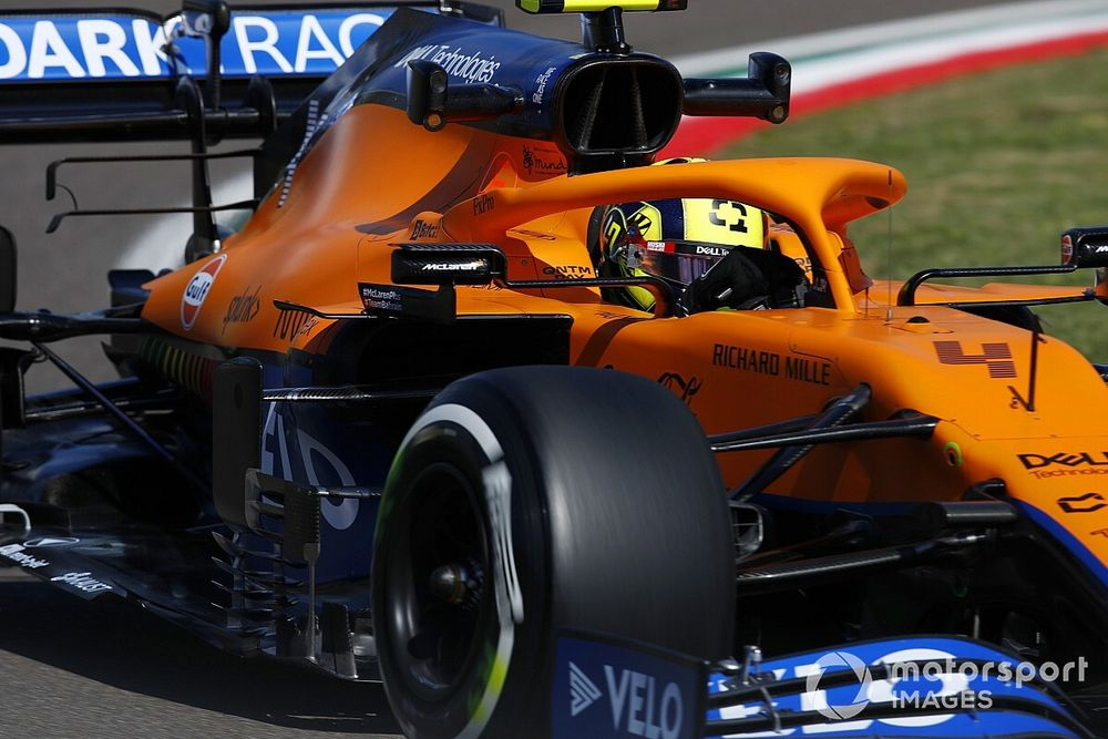Seidl: Self-criticism after Imola mistake typical of Norris