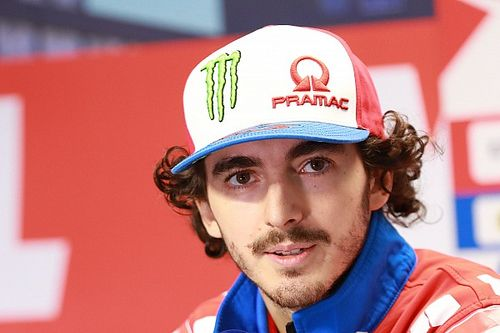 Bahu Bagnaia Geser Gegara Ulah Mir di MotoGP Portugal