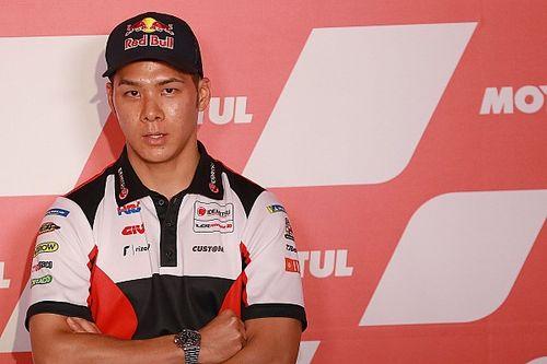 MotoGPバレンシアFP1:中上貴晶、トップタイムをマーク! 表彰台に向け好発進