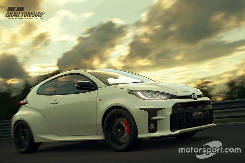 Ada Toyota GR Yaris di Gran Turismo Sport