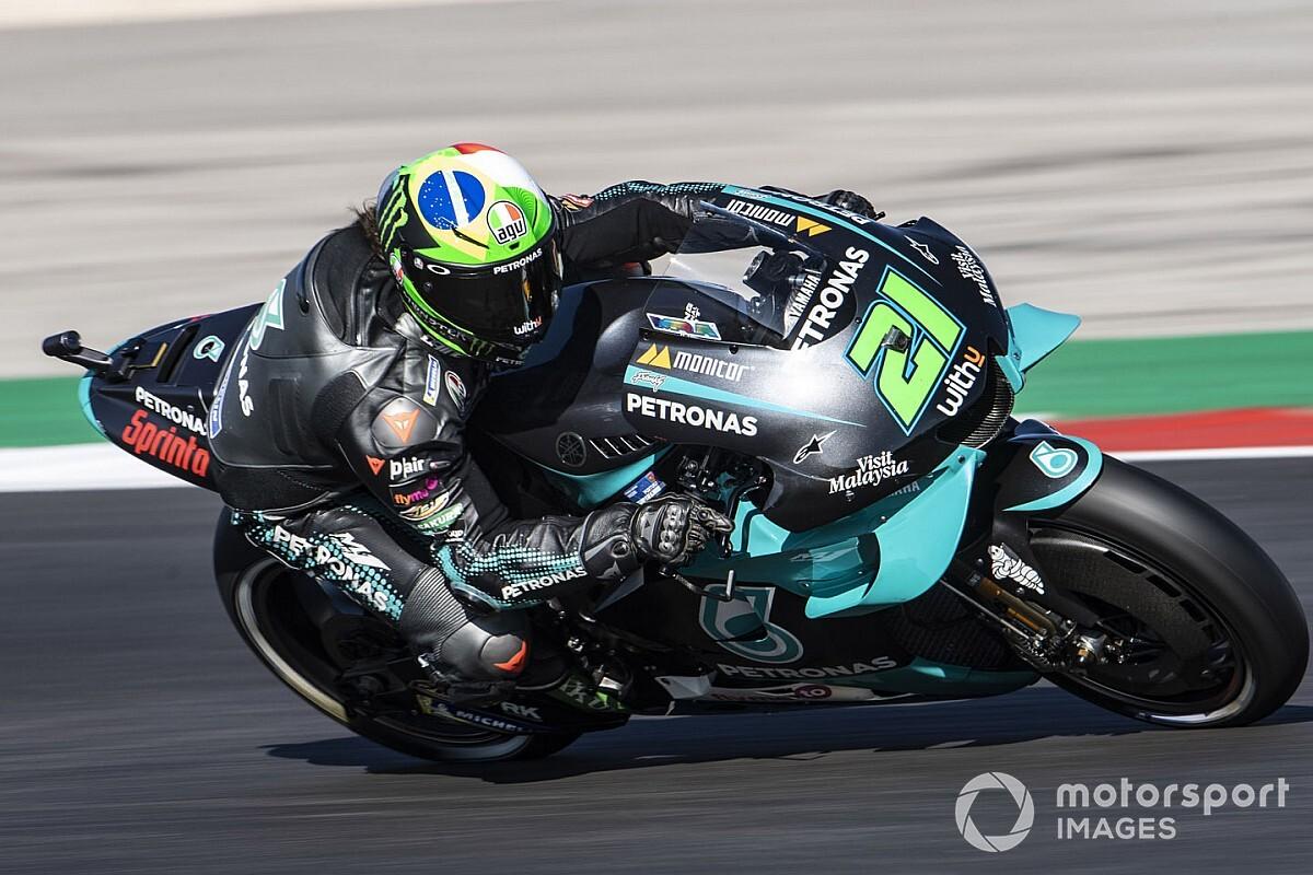 """Morbidelli: """"En todas las carreras hay una 'zona Suzuki'; espero a Rins"""""""