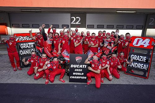 """Dall'Igna: """"El título de constructores premia las innovaciones de Ducati"""""""