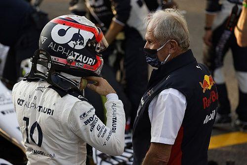 """F1- Helmut Marko: """"Melhor para Gasly ser primeiro piloto na AlphaTauri"""""""