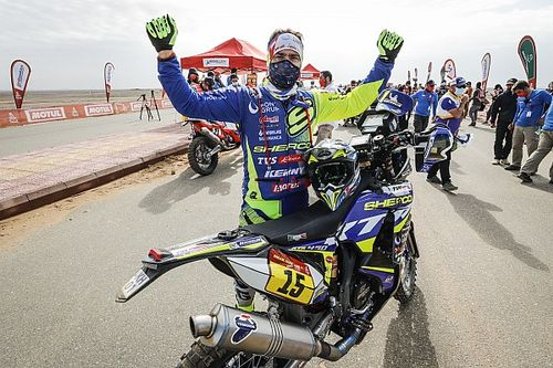Lorenzo Santolino, el mejor español del Dakar 2021 en motos