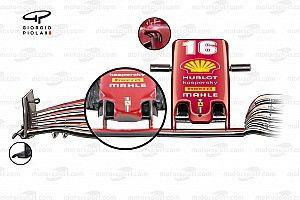 Ferrari SF21: ridotto il drag anche sul muso omologato!