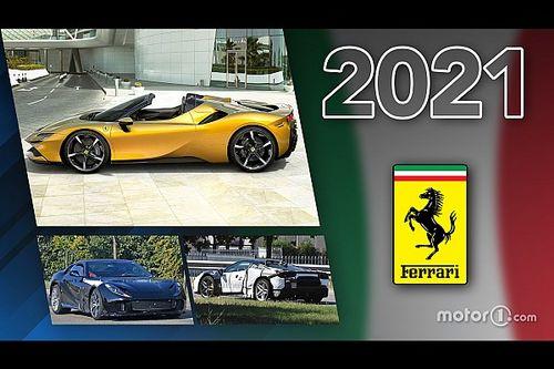 Novità Ferrari, ecco tutti i modelli in arrivo nel 2021
