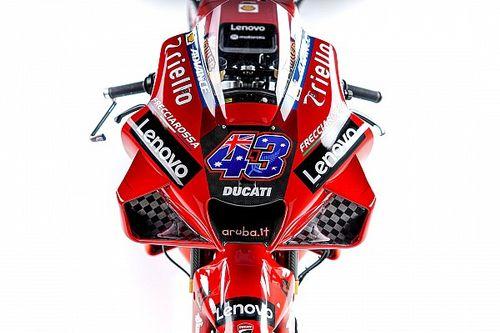 Los detalles de la nueva y espectacular Ducati GP21: todo al rojo