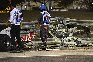 "Crash Grosjean, Steiner: ""Romain salvo grazie a cose come l'Halo"""
