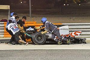 """Grosjean: """"Dönüşüm tamamen sol elimin durumuna bağlı"""""""