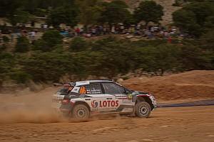 Kajetanowicz i Szczepaniak wskoczyli na podium w WRC 2