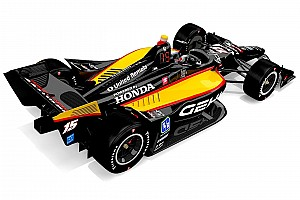 Retro Rahal livery at Road America to celebrate Honda in IndyCar