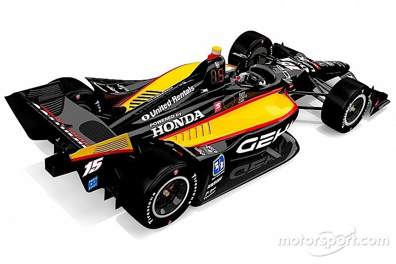 Retro Rahal livery at Road America to celebrate Honda in IndyCar