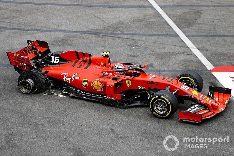 """Leclerc: """"Es resultado de lo que sucedió ayer"""""""