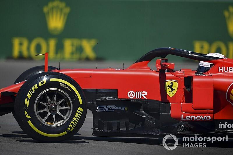 Vettel ai test Pirelli di Barcellona prima di Suzuka