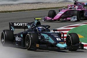 Латифи выиграл первую гонку Формулы 2 в Барселоне
