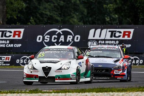 Ma Qing Hua se estrena en el WTCR en un doble podio de Alfa Romeo