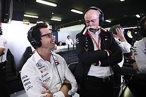 """Albers: """"Eerste haarscheurtjes"""" zichtbaar bij Mercedes"""