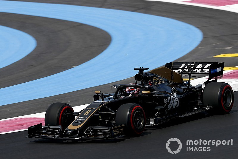 "Grosjean ""gutted"" not to have Haas update for home race"