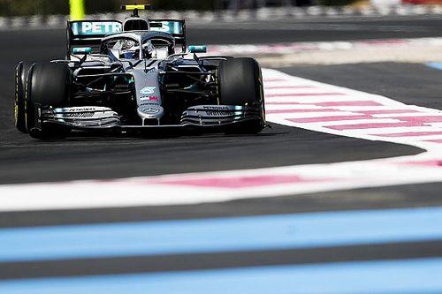 Fransa GP 3. antrenman: Bottas, Hamilton'ın 0.041 saniye önünde lider