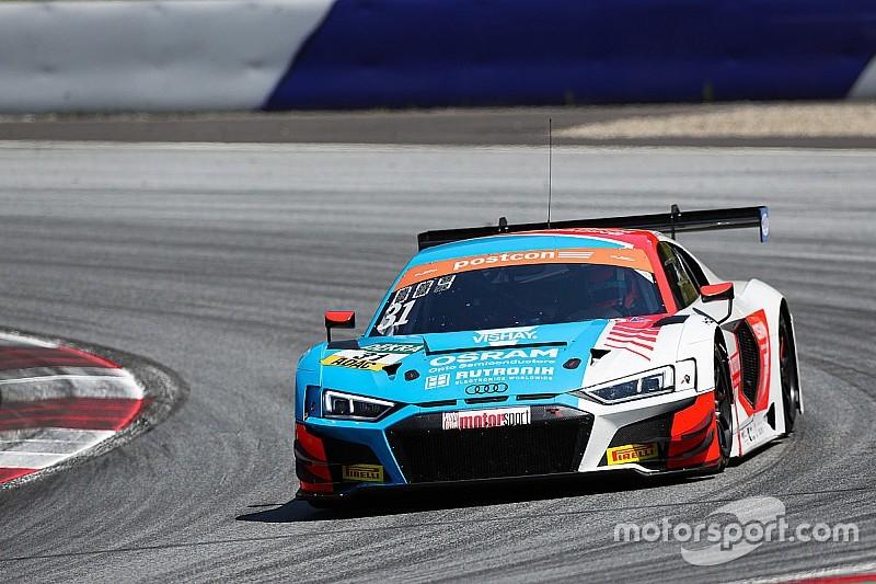 Niederhauser weiterhin an der Spitze des ADAC GT Masters