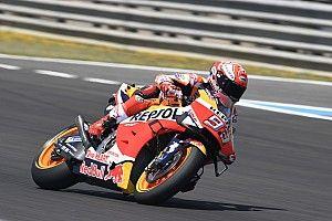 FP4 MotoGP Spanyol: Marquez ungguli Vinales 0,010 detik