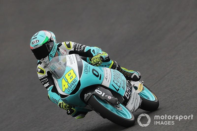 Moto3, Barcellona, Libere 2: Dalla Porta svetta prima della pioggia
