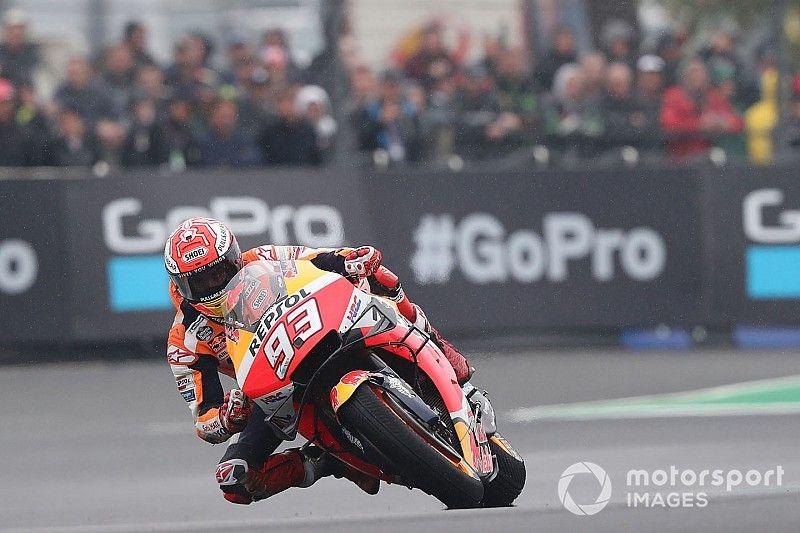 Márquez iguala en Le Mans las 55 poles de Rossi en MotoGP