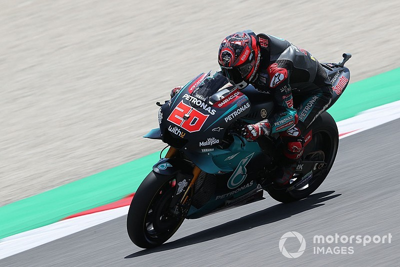 MotoGP, Mugello, Libere 4: riscossa Yamaha con Quartararo e Vinales, ma Rossi è 12esimo