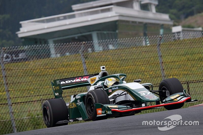 Cassidy absent from Toyota's Super Formula line-up