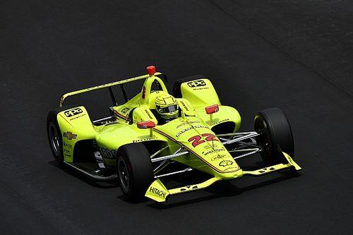 Penske hace un doblete en la penúltima práctica de la Indy 500