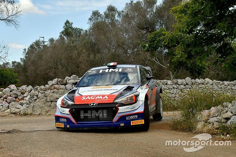 Fontana e Arena vincono il 52° Rally del Salento con la Hyundai i20 WRC