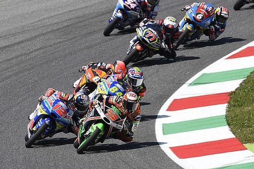 Прямо сейчас на «Моторспорт ТВ»: гонка Moto3 в Валенсии
